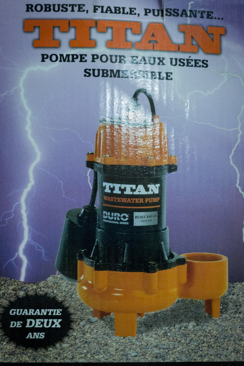 Submersible Pump from Strait Supplies Plumbing and Heating Supplies
