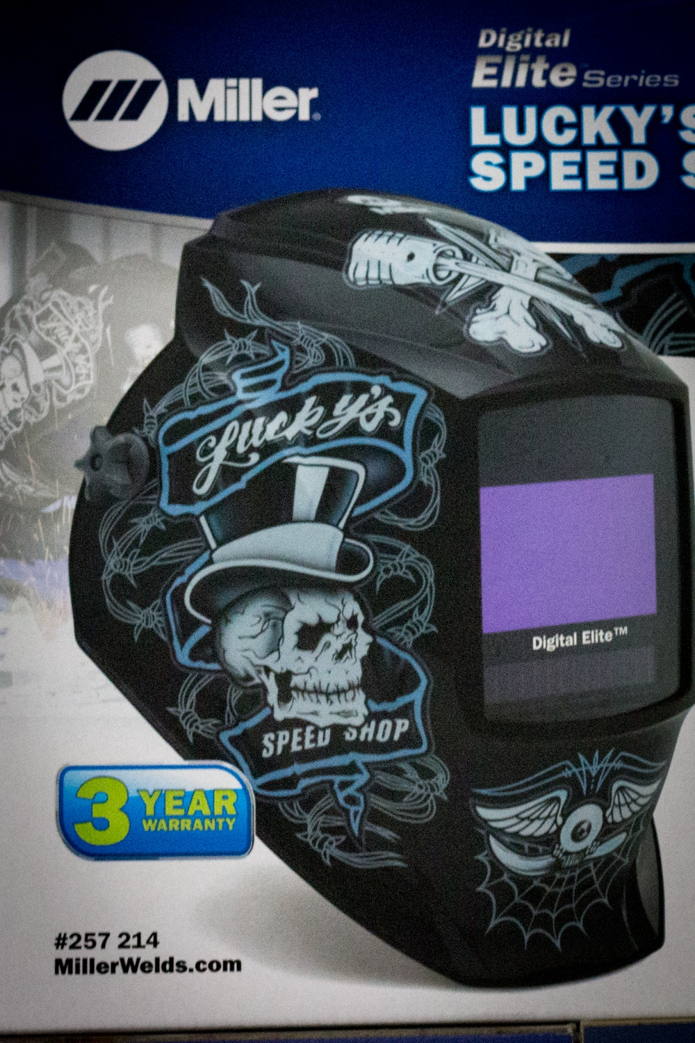 Welding Helmet from Strait Supplies