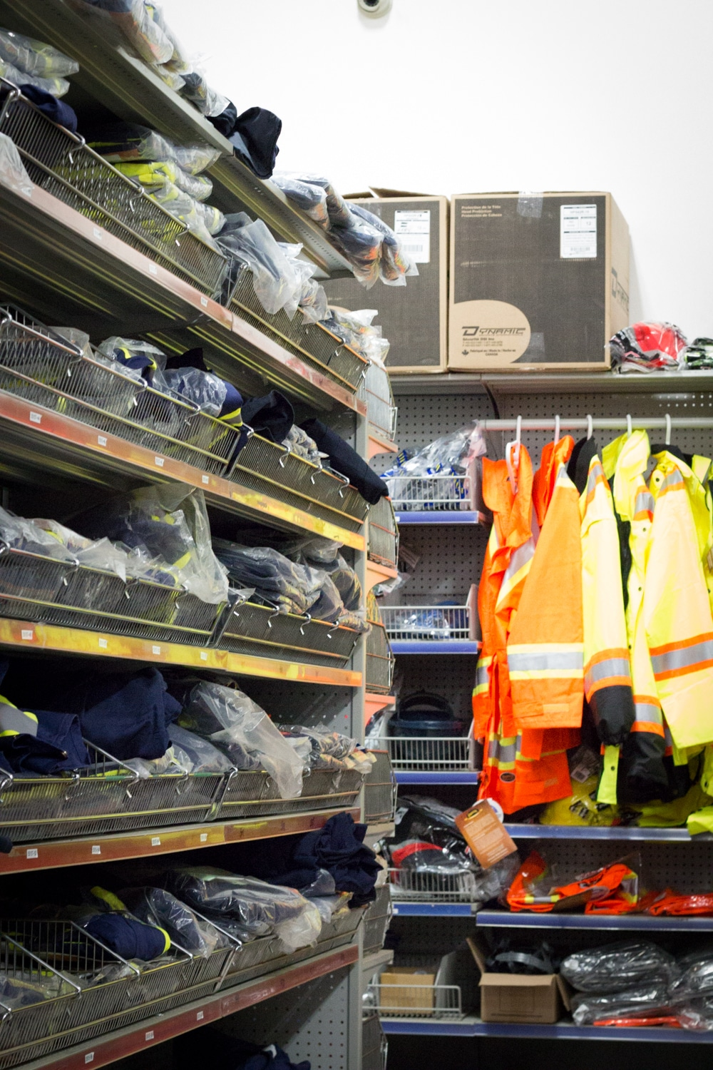 Coveralls and safety clothing at Strait Supplies Ltd.