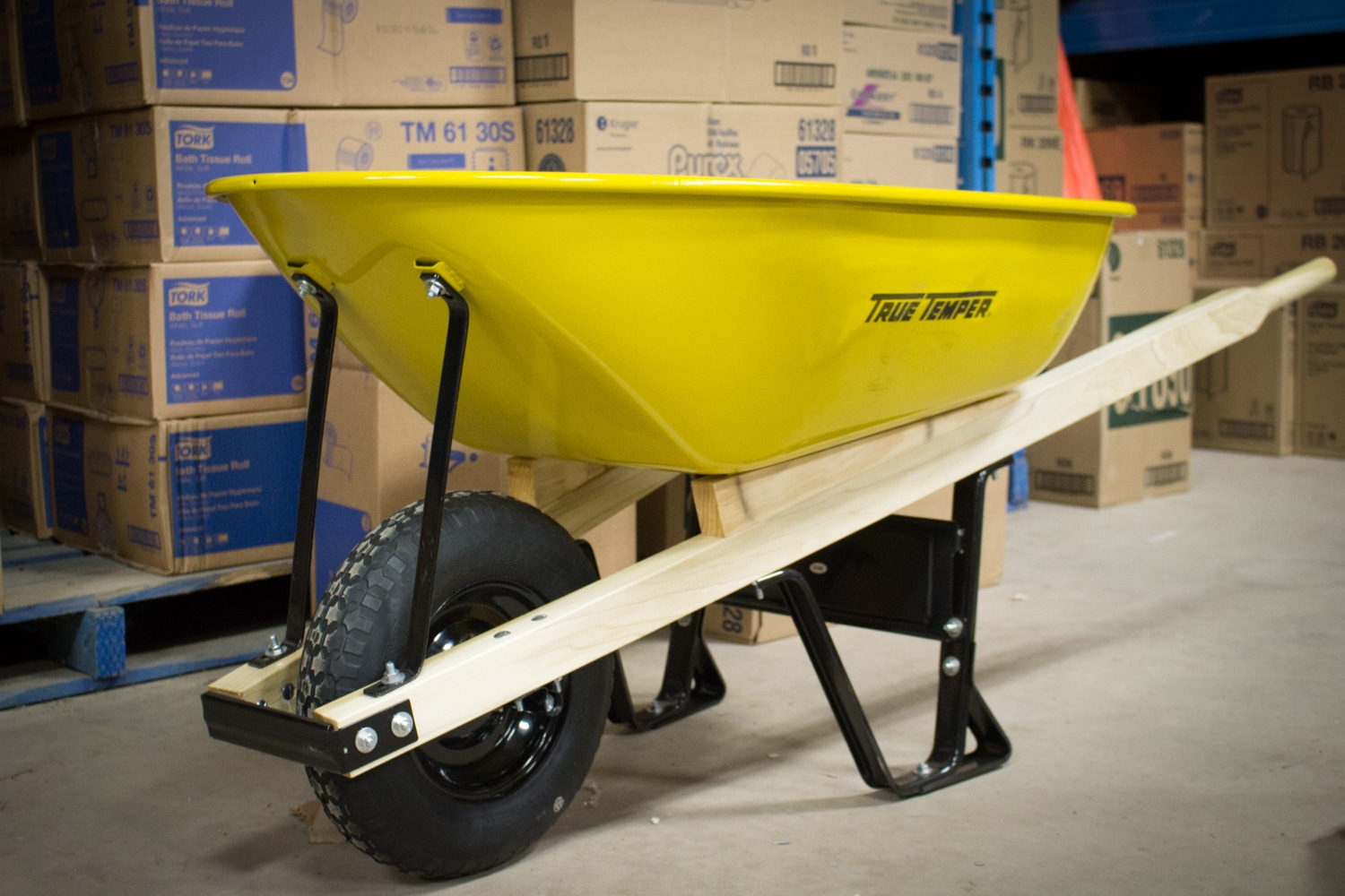 Wheelbarrow from Strait Supplies Limited, Nova Scotia