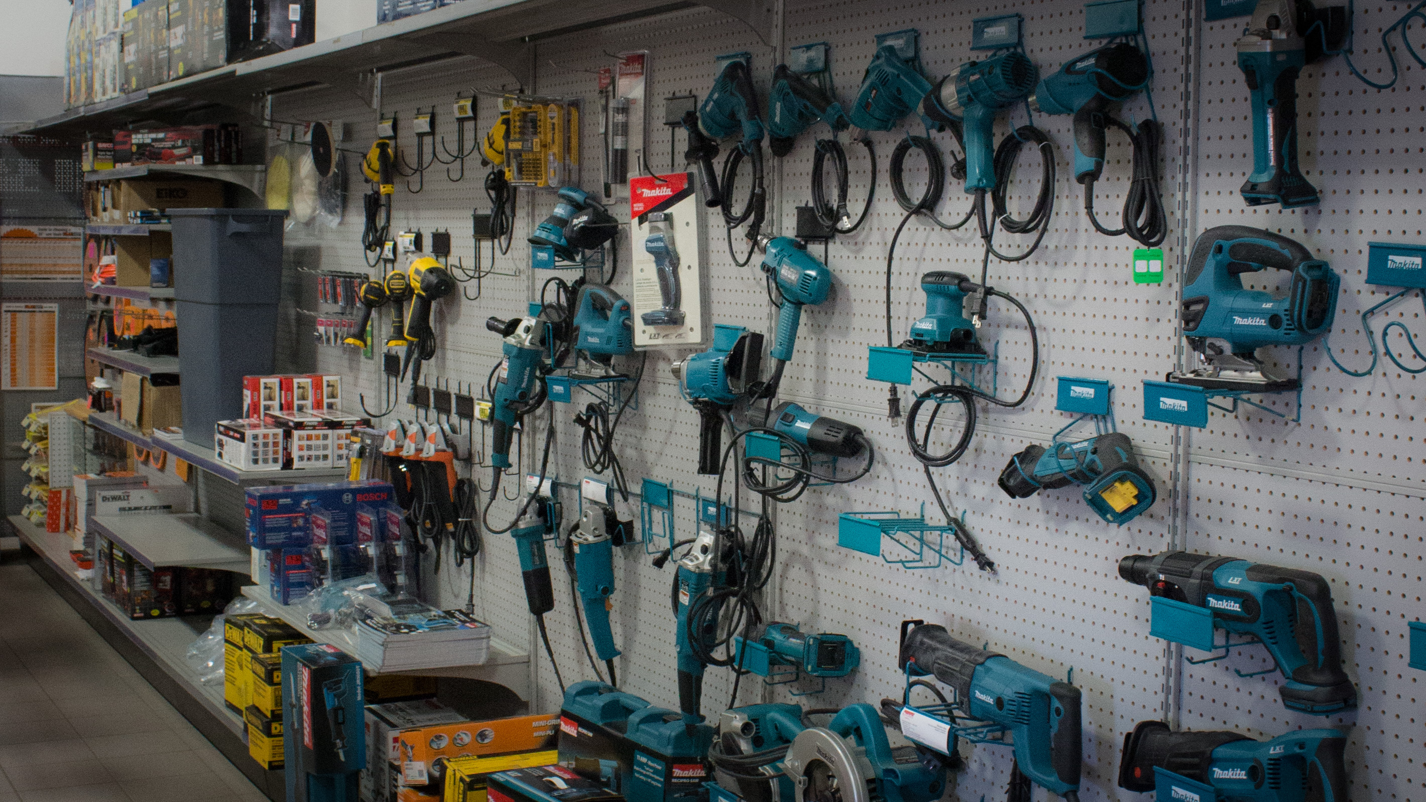 Power tools at Strait Supplies Limited
