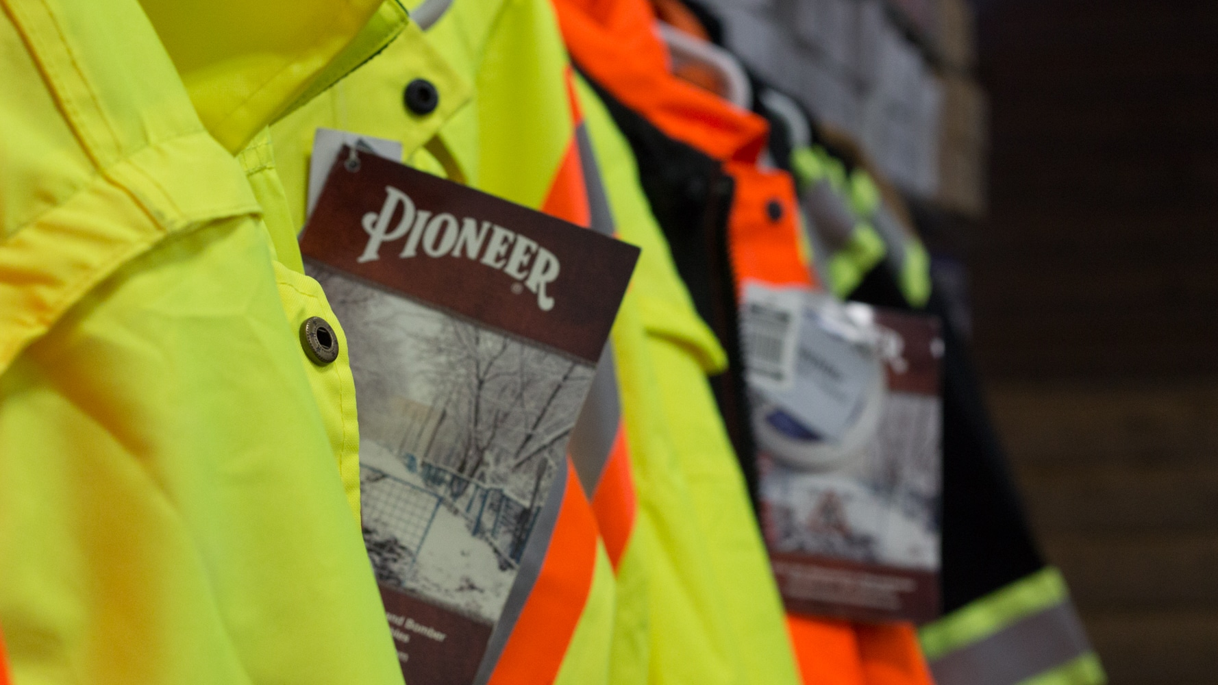 Pioneer Work Clothing - Safety Jacket